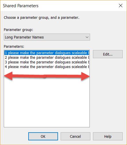 1-2 Revit Long Shared Parameter Names