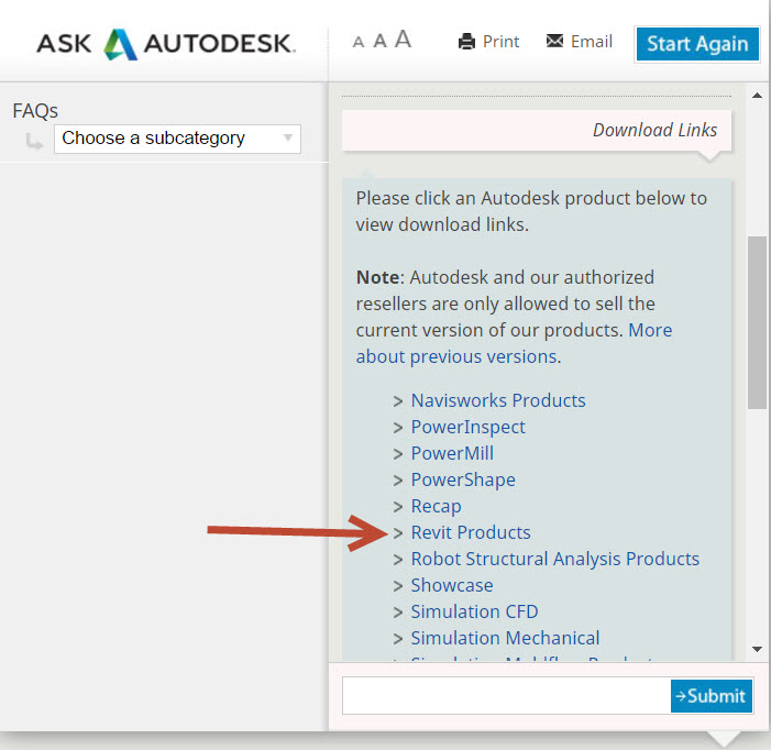 2-1 How to fix a failed Autodesk Revit Installation