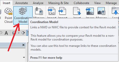 3-3 Revit 2018 Link Coordination Model