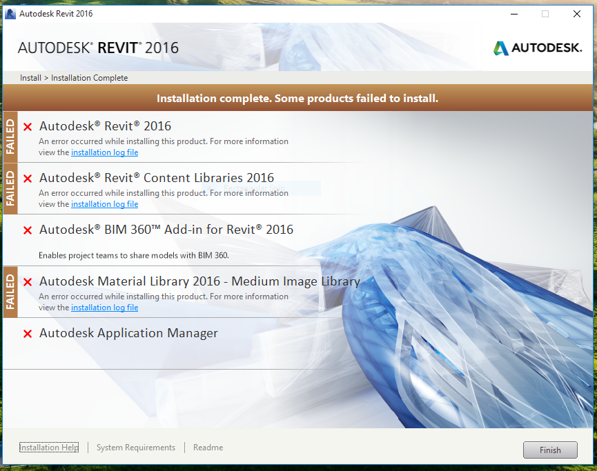 5-6 How to fix a failed Autodesk Revit Installation