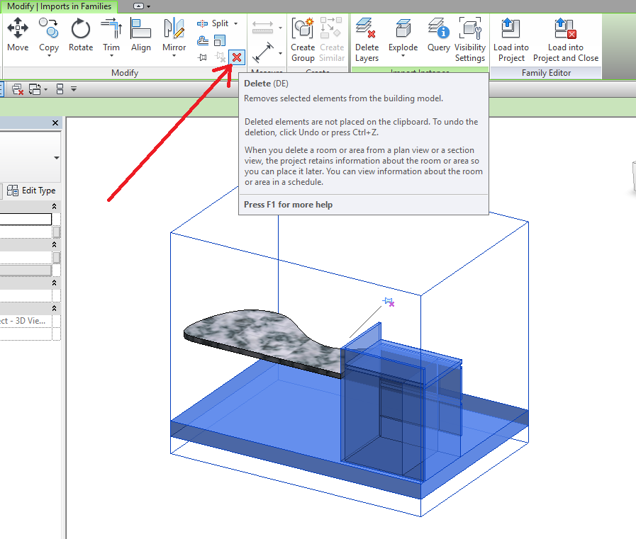 6 Revit LT - Modelling In Place – Workaround