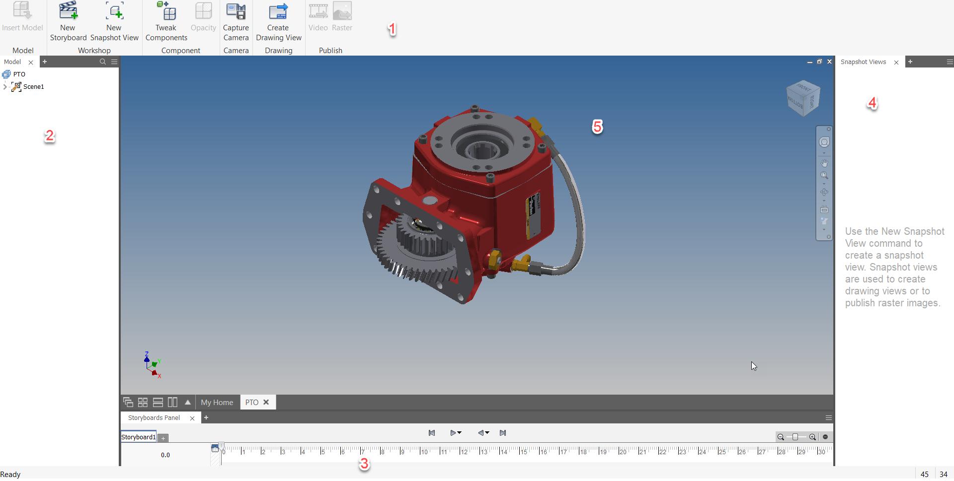 interface Inventor Presentation Environment