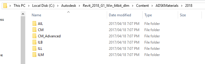1-3 Revit 2018 - Reinstall Material Libraries