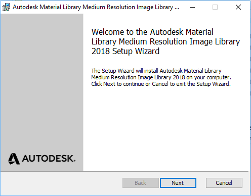 Revit 2018 - Reinstall Material Libraries