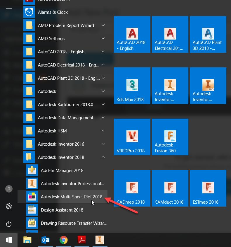 1-10 Autodesk multi sheet plotter