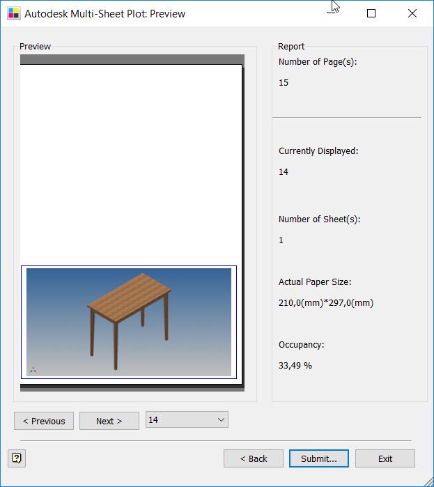 2-9 Autodesk multi sheet plotter