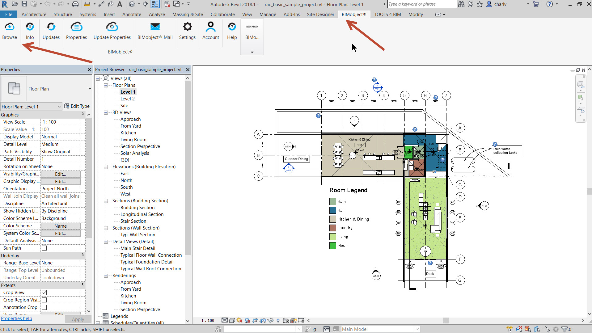 3b Free Revit content from BIMobject