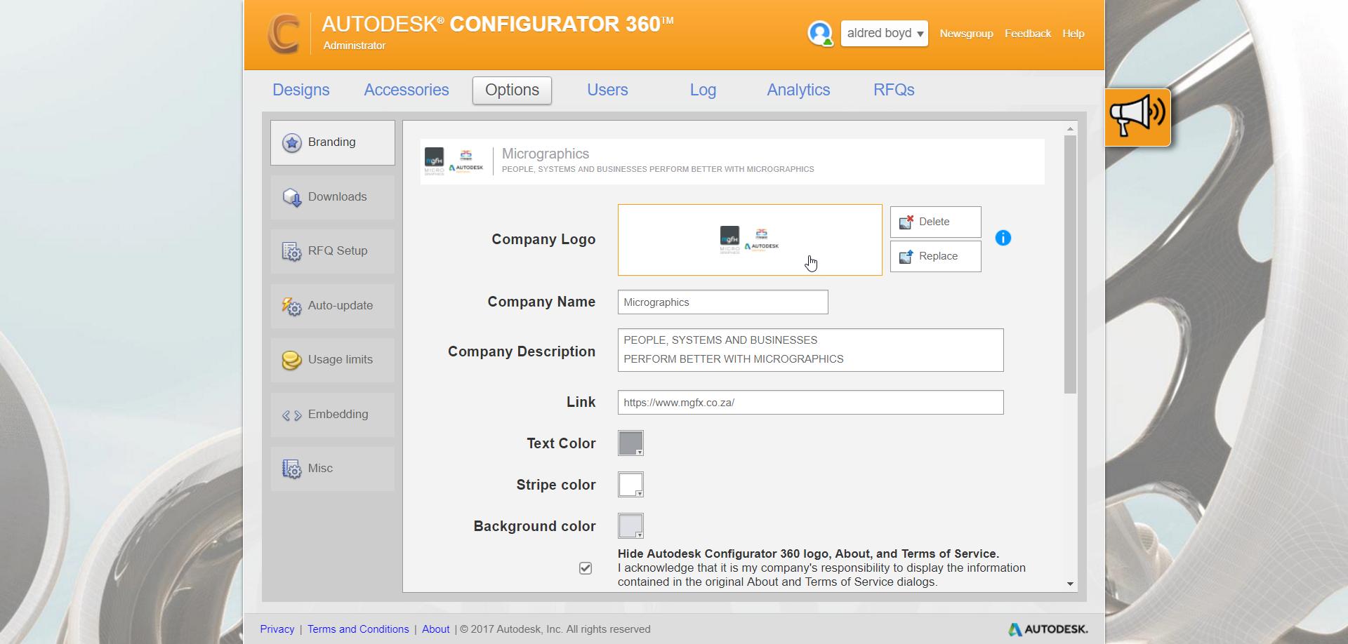 2-10 Configurator 360 - Branding and Downloading