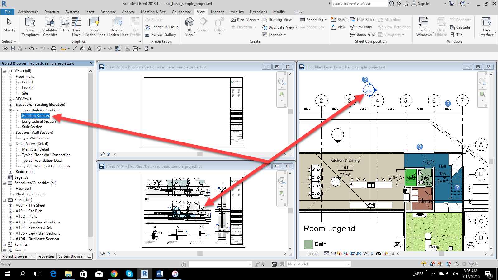 1-2 Revit – Duplicated Section Headers