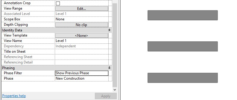 4-1 Revit - Displaying Wall Layers in Phasing