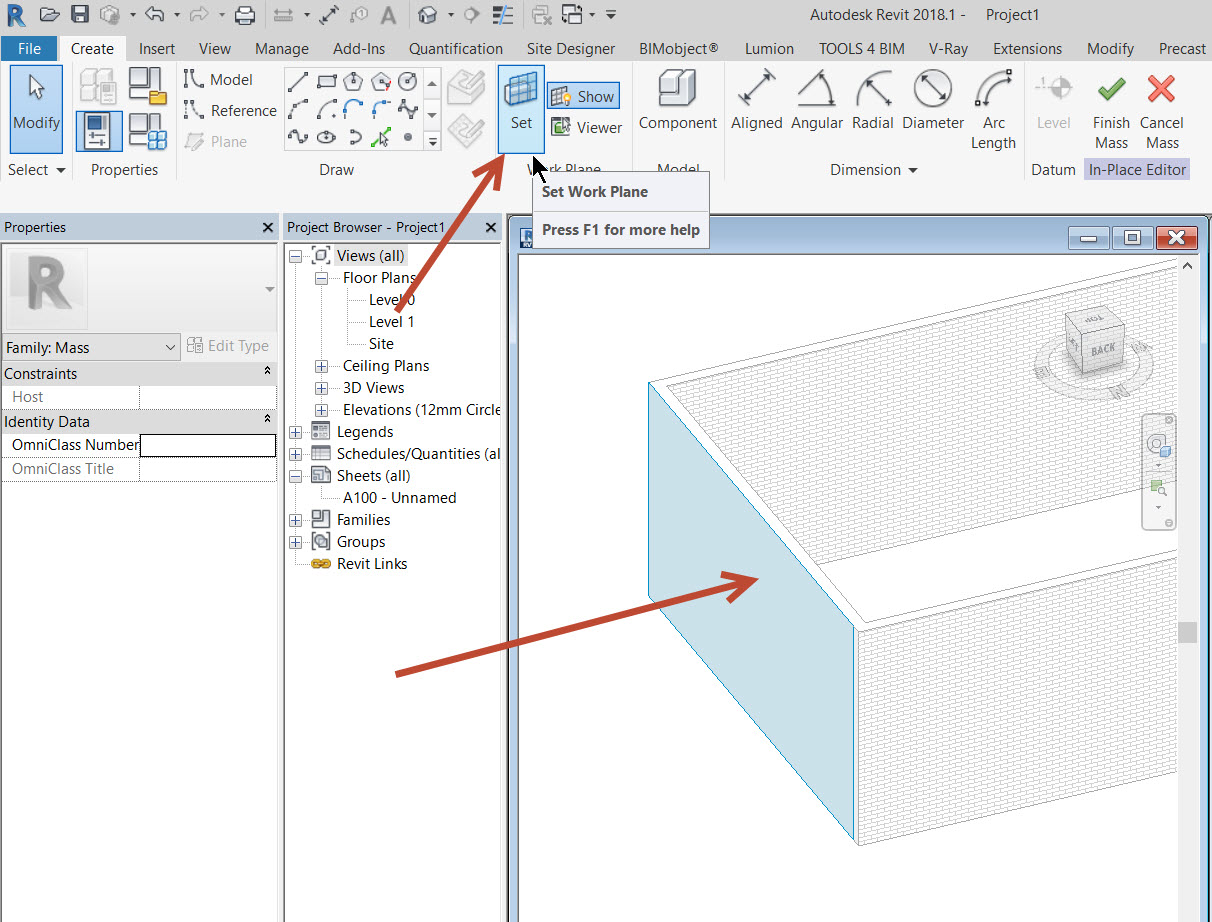 How to create a thatch roof in Revit