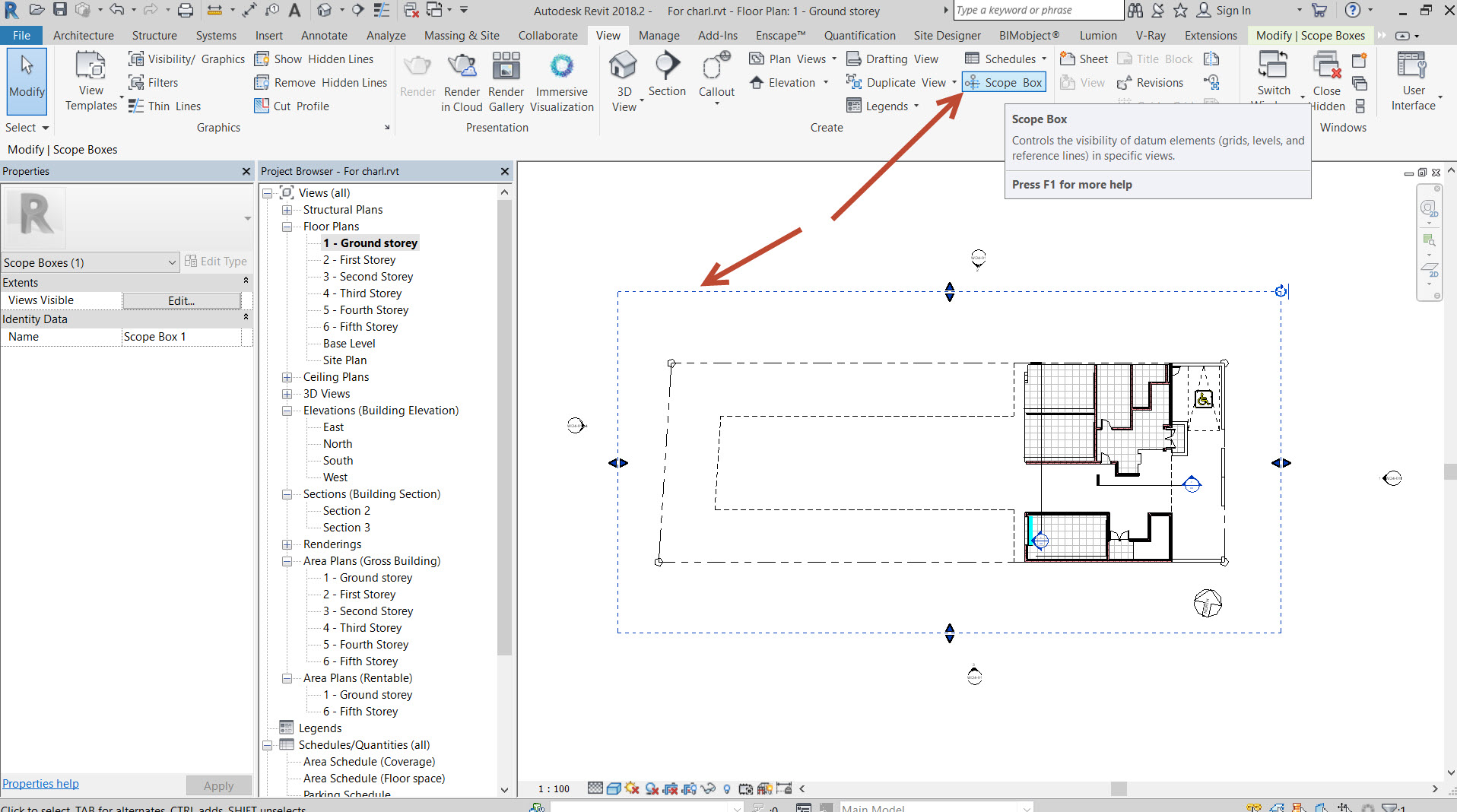 Drawing Property Lines In Revit : How to get missing revit grid or level lines back