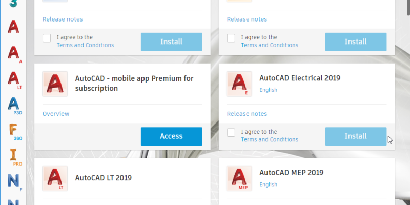 Autodesk Desktop App 2019 img