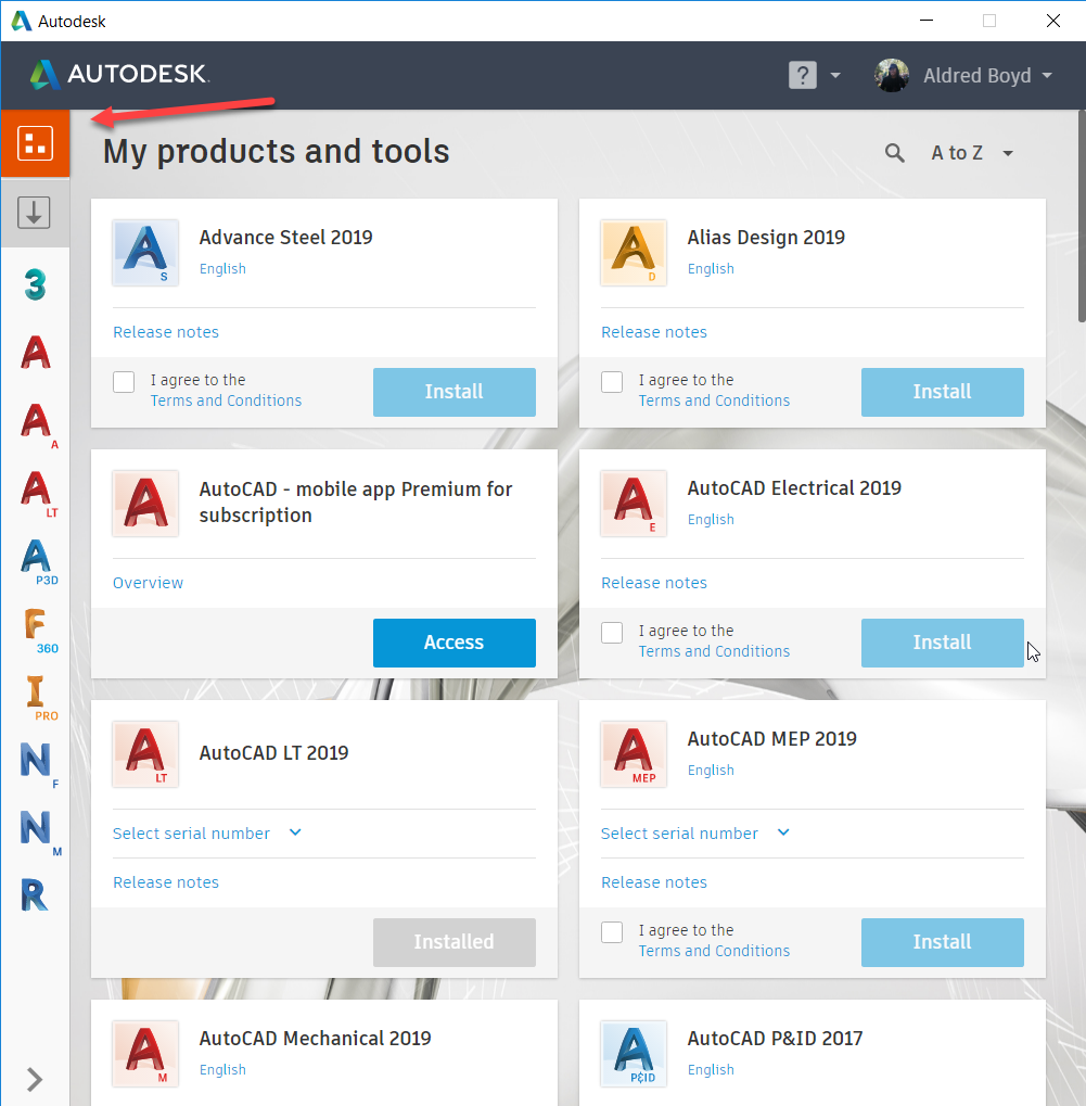 Autodesk Desktop App 2019