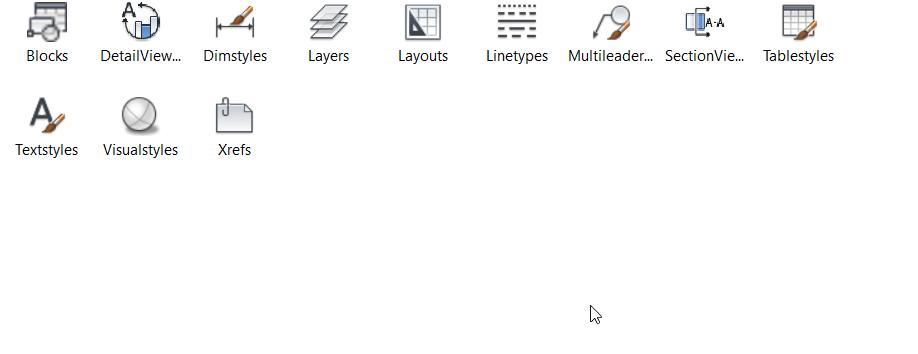 1-4 AutoCAD Design Center - transfer tool