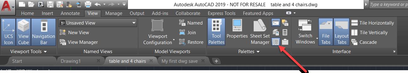 4-3 AutoCAD Design Center - transfer tool