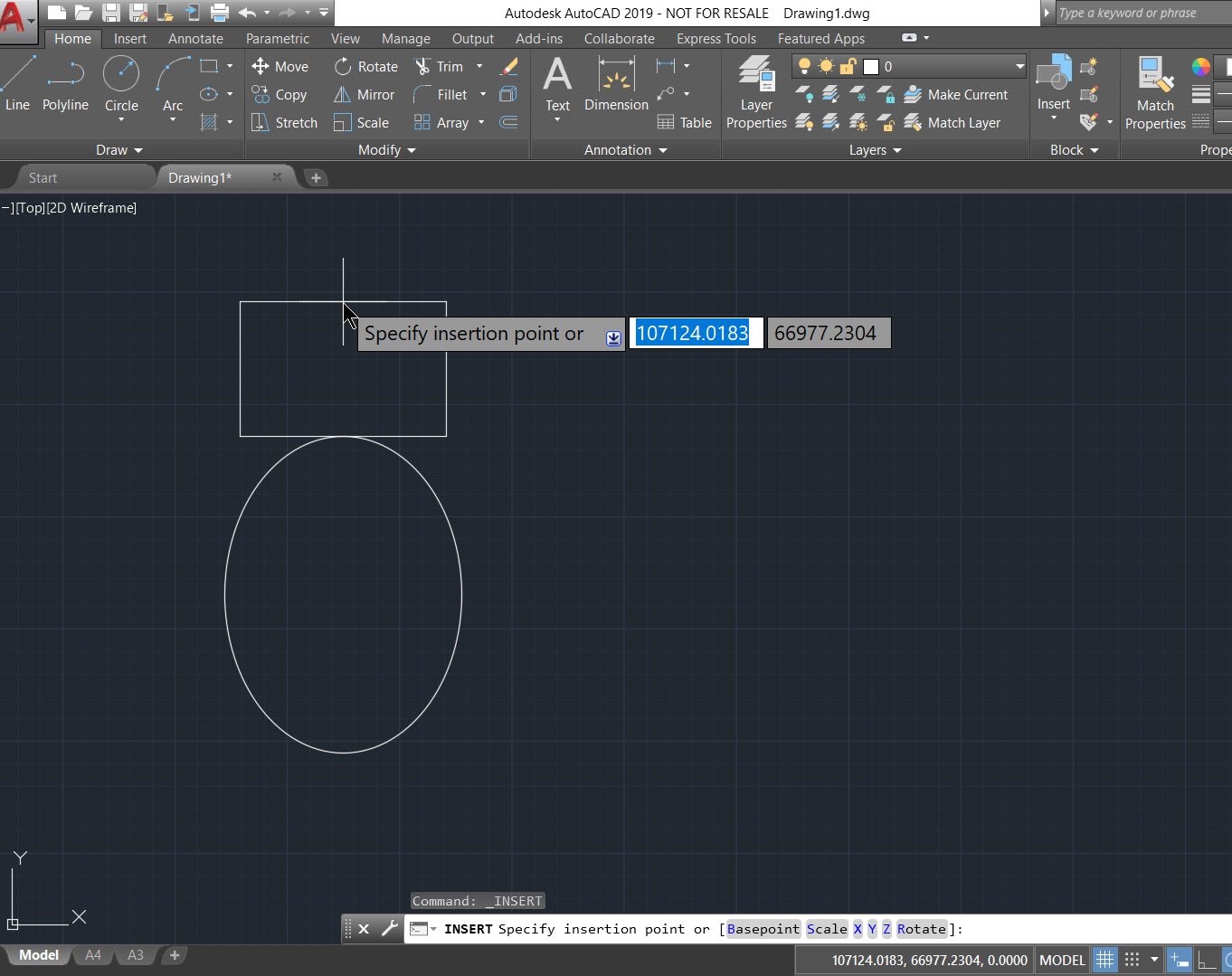 How to load and insert external blocks using AutoCAD 2020