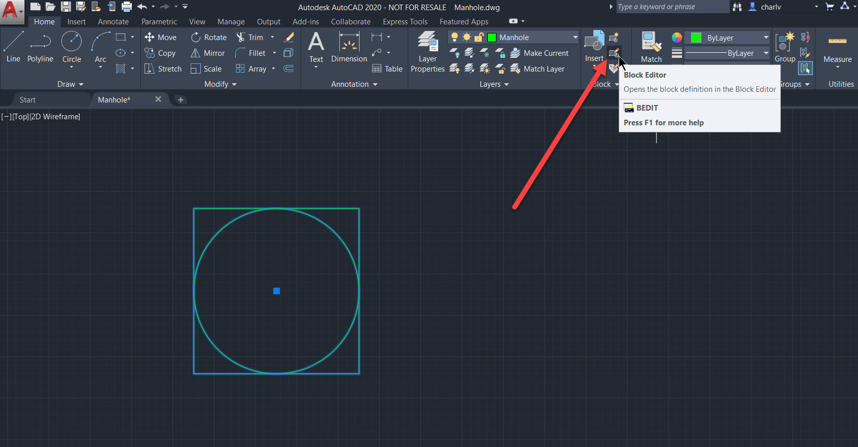 How to add attributes to an AutoCAD 2020 block and export
