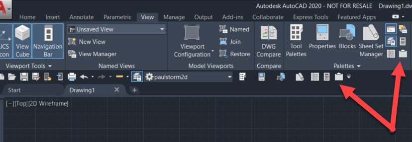 AutoCAD-img-2 AutoCAD 2020 Pallets Arrange and Toggle