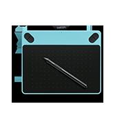 A pen tablet