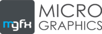 MGFX horizontal logo black