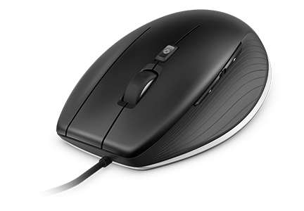 A full size wired mouse with a high precision laser sensor with 8.200 dpi and CAD specific features for a comfortable and efficient workflow.