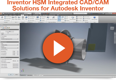 Get Autodesk Inventor HSM (3, 3 2, 4 Axis, Turning) CAM Software for as little as R 80 750 Ex VAT
