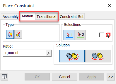 motion constraint