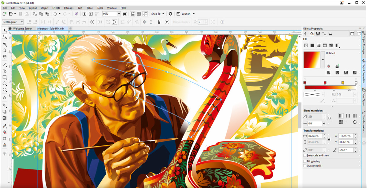 CoralDRAW – Graphic Suite
