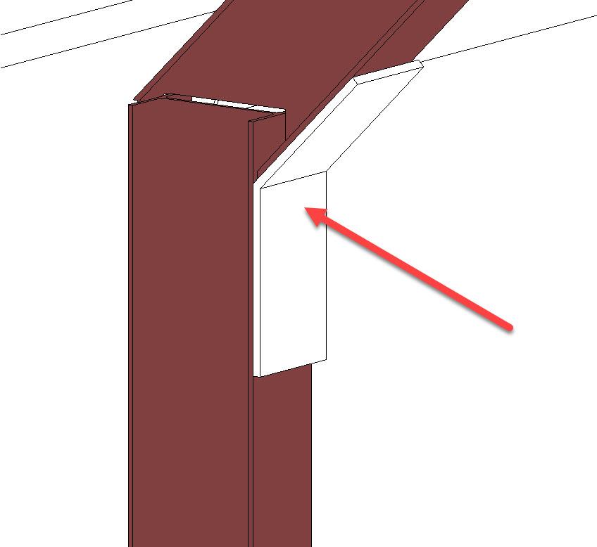Custom Steel Connection - 8 correct position