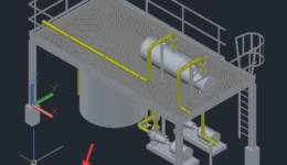 Exporting Plant 3D Model into AutoCAD - 001