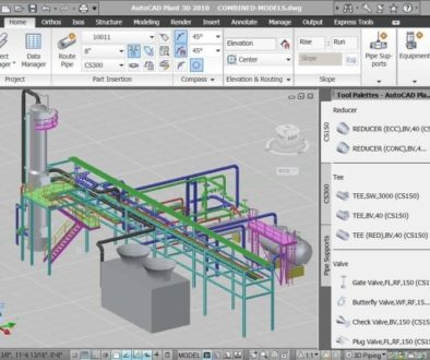 Sketchup vs AutoCAD (and LT) vs Revit - 3 - AutoCAD Plant3d