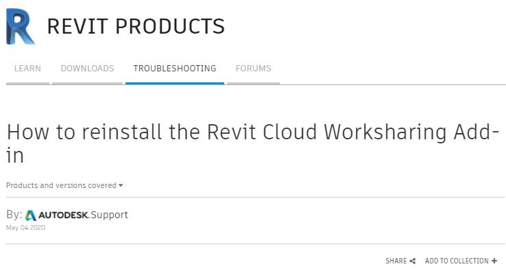 Autodesk, Micrographics, Revit 2021, Revit 2018, Reinstall, Collaboration for Revit