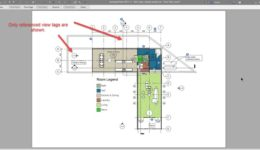 How to set Revit unreferenced sectional view lines to auto hide 3 print preview
