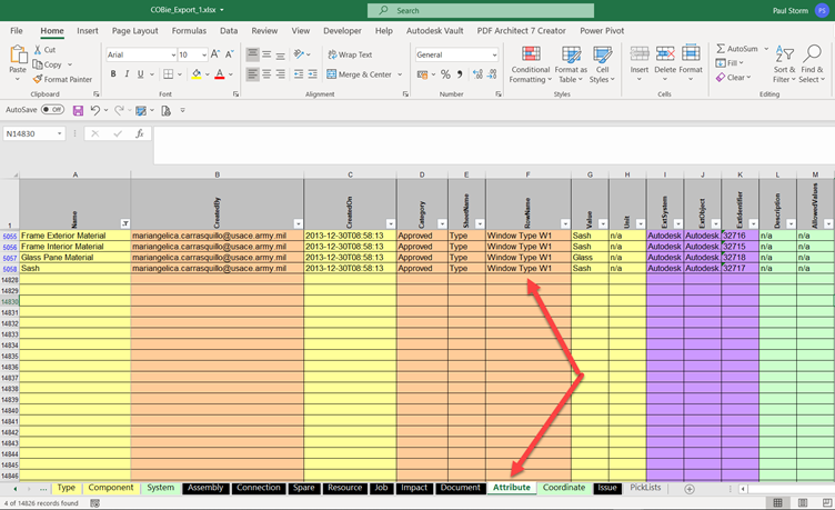 Autodesk, Micrographics, Revit 2021, BIM Interoperability Tools, Export, Additional Parameters, Attributes