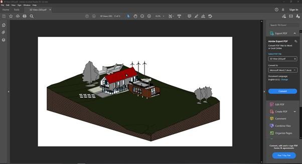 PDF Export -2 3D PDF