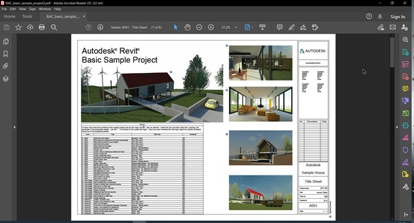 PDF Export -5 Sheets in PDF