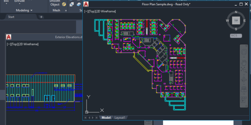 Top New Features in AutoCAD 2022 - 005 - Floating windows