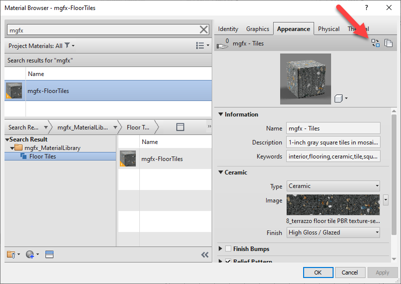 Autodesk, Micrographics, Revit 2022, Custom Material Asset Library