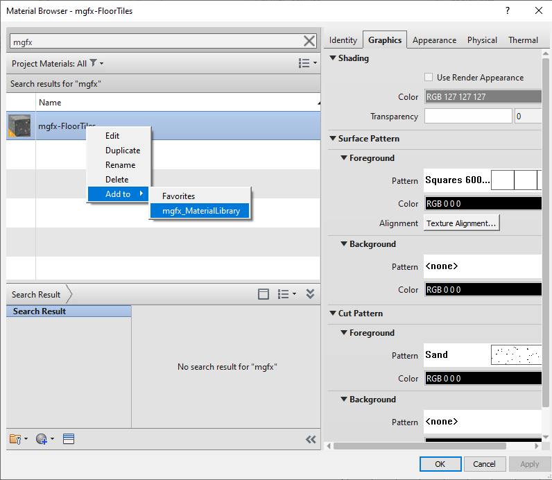 Autodesk, Micrographics, Revit 2022, Custom Material Library